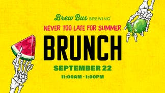 Never Too Late for Summer Brunch