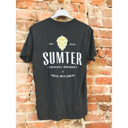 Back of Black SOB Tshirt