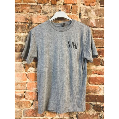 Heather Gray SOB Tshirt