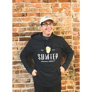 Black Sumter Hoodie, With Logo