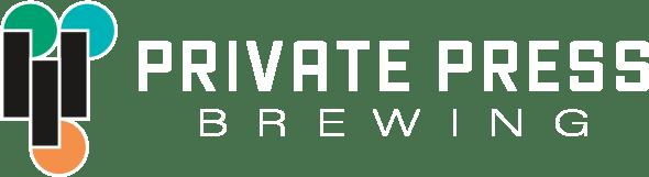 Private Press logo horizontal