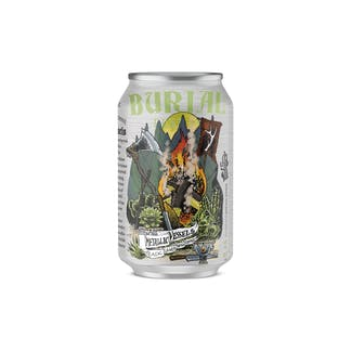 Metallic Vessels Lager Can