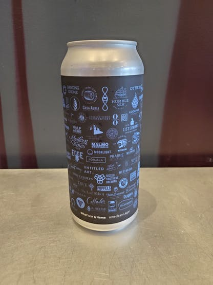 picture of 16 oz What's in a Name can