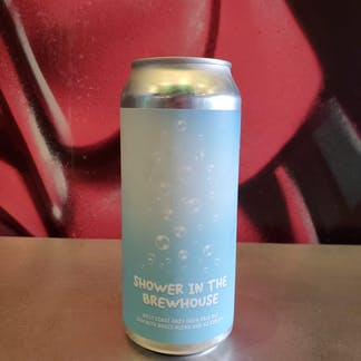 photo of a can of Shower in the Brewhouse