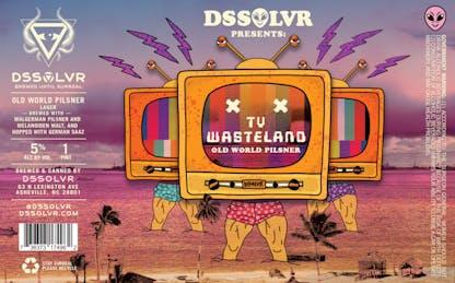 TV Wasteland Old World Pilsner Label