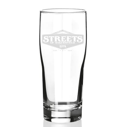 Streets of Bakersfield 16 oz Glass