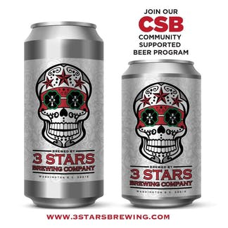 3 Stars Brewing CSB cans
