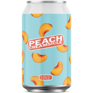 Peach Creamsicle 12 oz Can