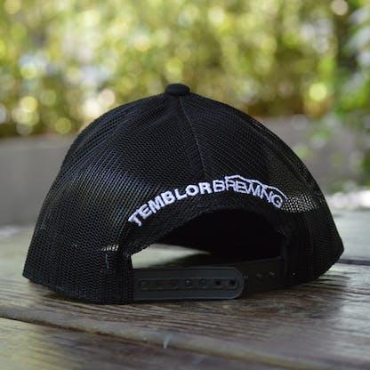 Temblor Mountains Snapback Hat Back