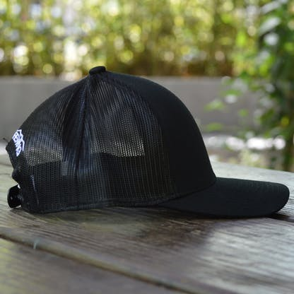 Temblor Mountains Snapback Hat Side