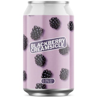 Blackberry Creamsicle 12 oz Can