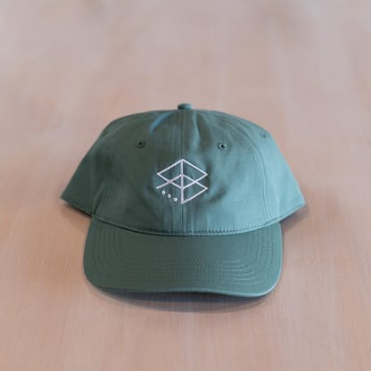RB Embroidered hat (green)