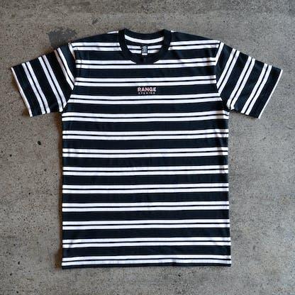 RB Striped Shirt Flatlay