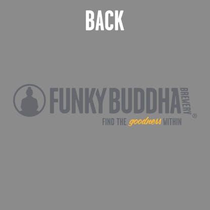 Funky Buddha Grey Hoody Back