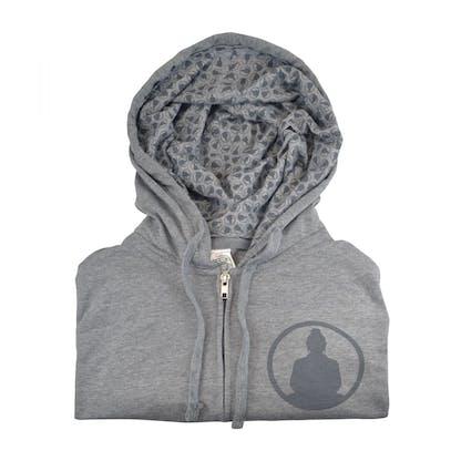 Funky Buddha Grey Hoodie Pattern