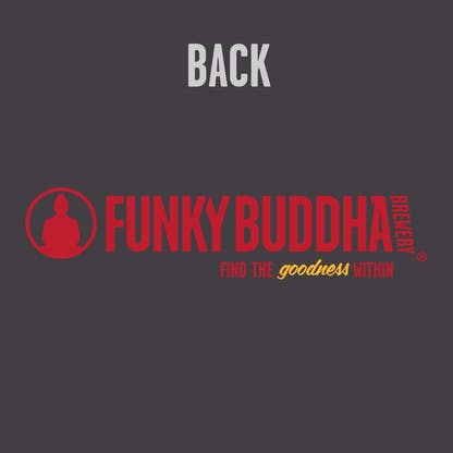 Funky Buddha Grey/Red Hoody Back