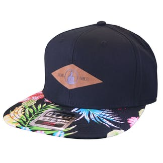 Floral Patch Hat