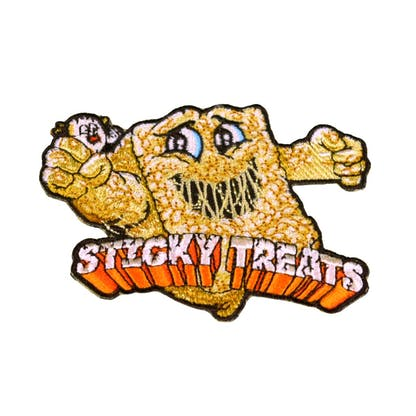 Funky Buddha Sticky Treats Patch