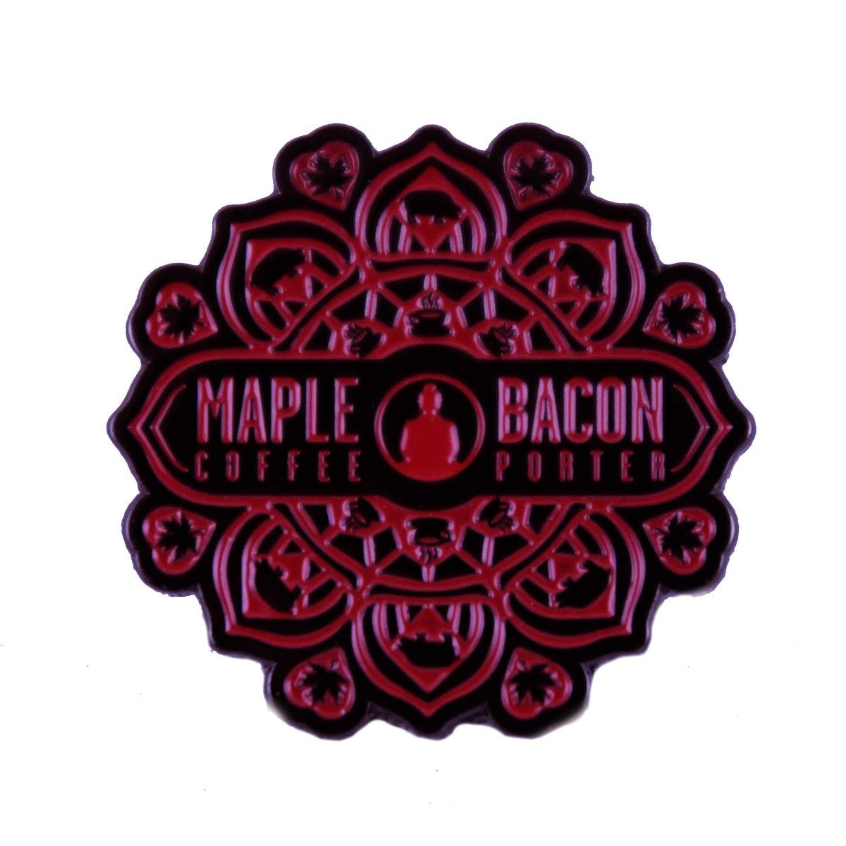 Maple Bacon Coffee Porter Pin