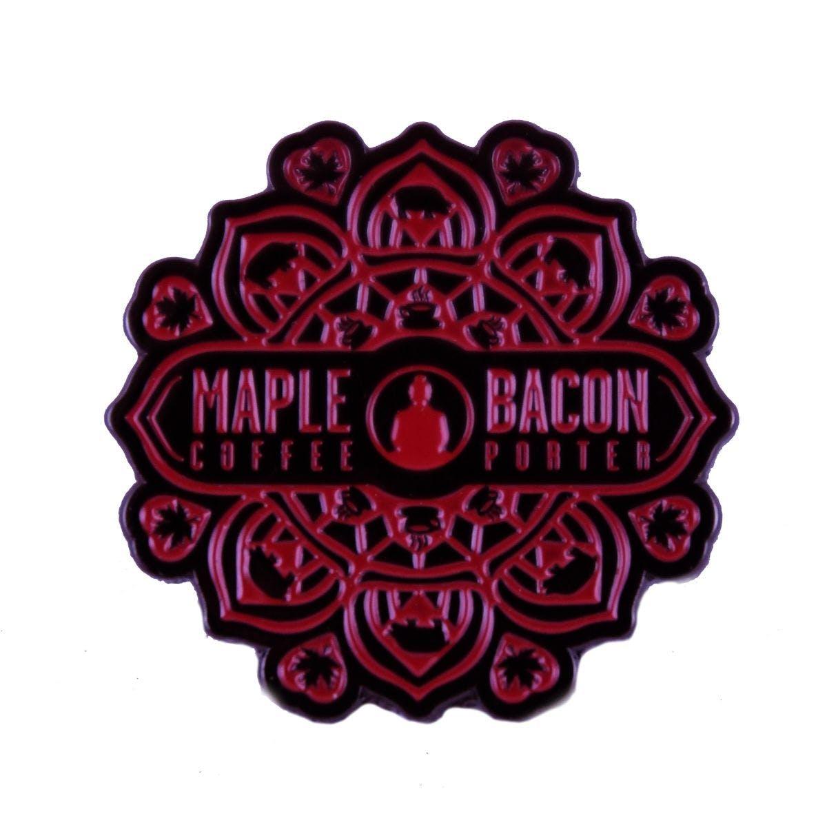 Maple Bacon Coffee Porter Pin