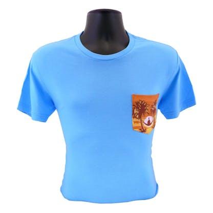 Floridian Mens T-Shirt Blue