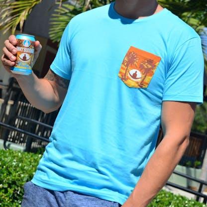 Floridian Mens T-shirt Blue 2
