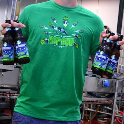 Hop Guns Men T-Shirt 2