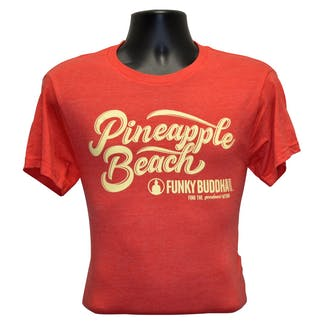 Mens Pineapple Beach T-Shirt