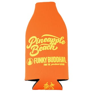 Orange Pineapple Beach Bottle Koozie