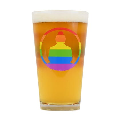 Pride Pint Back