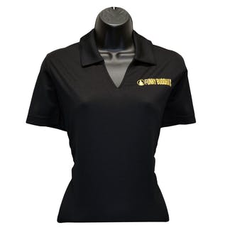 Womens UFC Polo Black