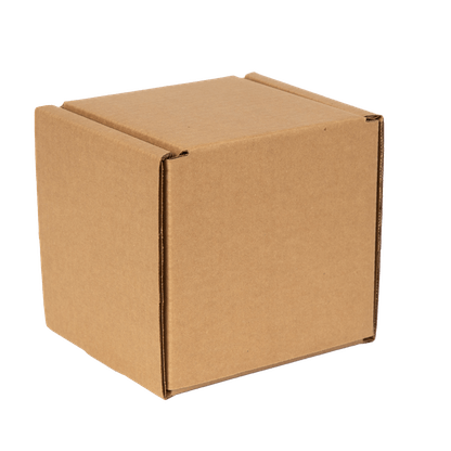 box for shipping 4 cans