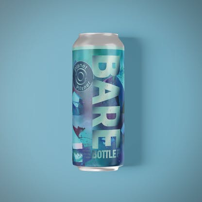 Planet Pils Can Mockup