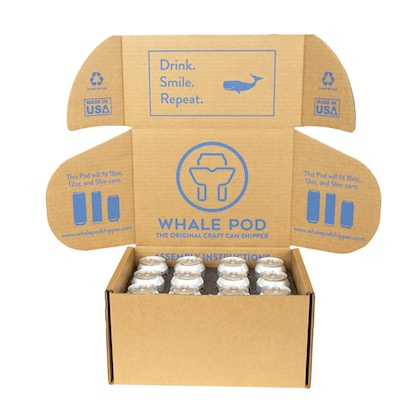 Thermal box to ship 12 cans