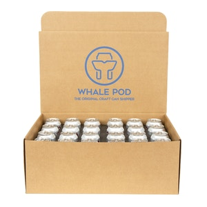 Thermal box to ship 24 cans