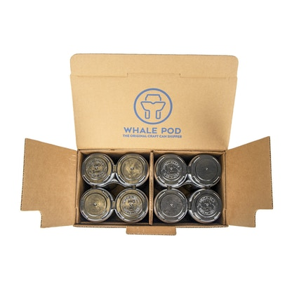Box to ship 8 cans