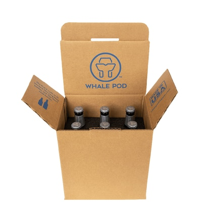 6 pack bottle pod