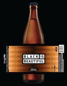 Black Is Beautiful Bottle Mockup