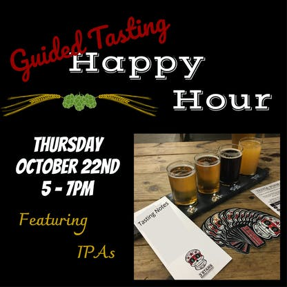 Guided Tasting Happy Hour