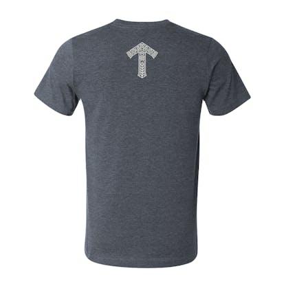 short sleeve tshirt back