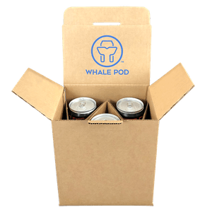 boxes for shipping crowler cans beer