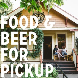 Food & Beer For Pickup