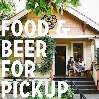 Food & Beer For Pickup
