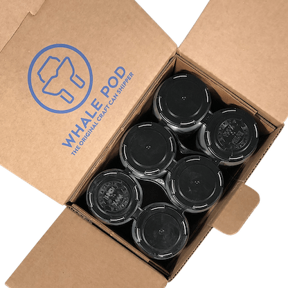 shipping boxes for cider beer cans 16oz 12oz