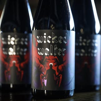 Wicked Walter Stout Bottle