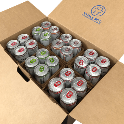 slim can shipping boxes for sleek cans 12oz