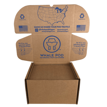 boxes for shipping beer cans 16oz