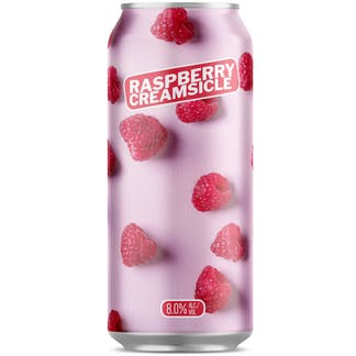 RASPBERRY CREAMSICLE 16 OZ CAN