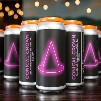 Conical Crown Gose cans