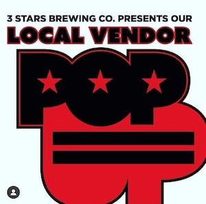 Local Vendor Pop Up 3 Stars Brewing Company